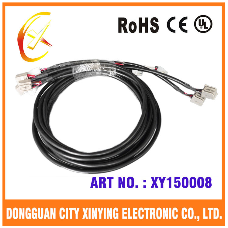 12 Pin Automotive Electrical Wiring Harness With Hot