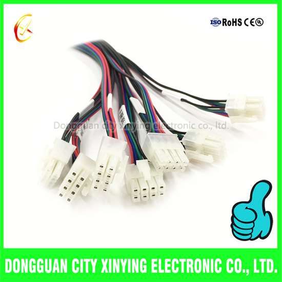 custom molex conncetor to 2 pin smr smp connector automotive cable