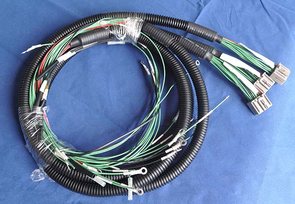 corrugated hose cable assembly