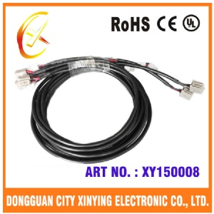 12 pin automotive electrical wiring harness with hot shrinking tube