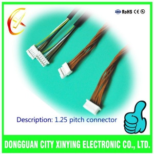 custom made GH 1.25mm pitch electrical cable assembly