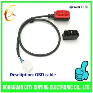 OEM custom made OBD Connector cable harness