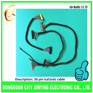 OEM custom made LVDS Cables for LCD