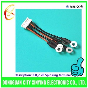 OEM custom made ring terminal cable assembly