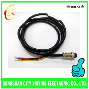 OEM custom made aviation connector cable assembly