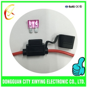 OEM custom made fuse cable assembly for auto title=