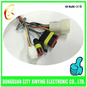 OEM custom made waterproof connector cable assembly