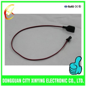 OEM custom made electrical wire harness with on off switch