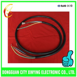 OEM custom made cold terminals electrical power cable assembly