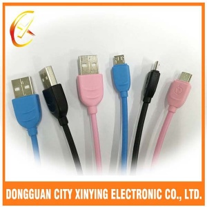 26AWG 28AWG TPE micro USB charging cable for android phone