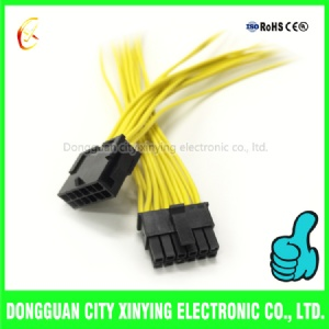 12 pin 3.0mm molex connector male to female wire harness