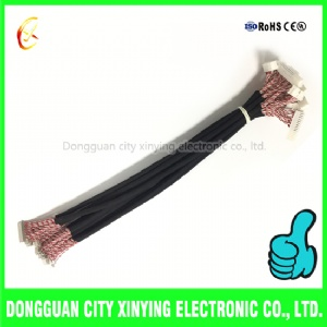 30 pin lvds cable with lvds socket connector to 2.0mm jst connector